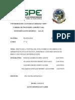 Informe de Edafologia Ensayo