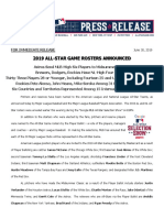 2019 All-Star Game Rosters Announced_063019
