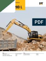 Escavadeira Hidraulica 320 D Cat