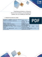 Syllabus Diseño de Sistemas 301309