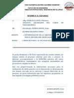 Formato de Informe m2