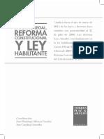 Libro Entorno Legal Reforma Constitucional y Ley Habilitante