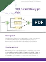IyCnet Controladores PID Resumen Final