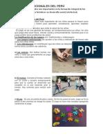 Juegos Tradicionales Del Perú