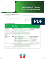 Occupational-Therapy ICD 10