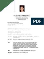 Luis Carlos Mendoza -En