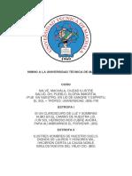 Himno, Caratula, Mision y Vision de ENFERMERÍA UNIVERSIDAD TECNICA DE MACHALA