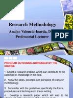 Advanced REsearch Methodology