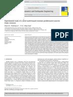 2018-Experimentalstudyofanovelmulti-hazardresistantprefabricatedconcreteframestructure