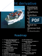 Final Freight Derivatives - Grp 4