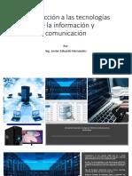 Introducción a Las Tecnologías de La Información y Comunicación Parte II
