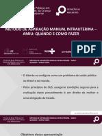 Método de Aspiração Manual Intrauterina - Amiu_quando e Como Fazer