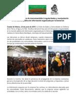 Denuncian comunidades de Ixtacamaxtitlán irregularidades y manipulación en la reunión pública de información organizada por la Semarnat