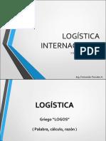 Capitulo 1 - Logistica Internacional