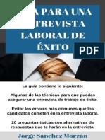 Guía para una Entrevista Laboral de Exito.pdf