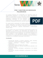 Supervision Gestion Residuos