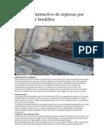 Método Constructivo de Represas Por Sucesión de Bordillos