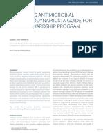 Optimizing AB Pharmacodynamics