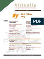 Séptima edición revista de psicoanálisis