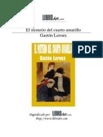 Leroux, Gaston - El Misterio del Cuarto Amarillo