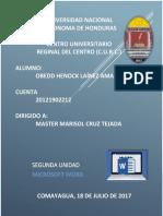 Portafolio II Unidad Obedd Lainez