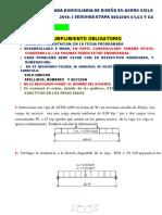 Practica Calificada Domiciliaria de Diseño en Acero 2019-i Segunda Parte[1082]