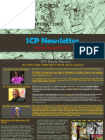 2019 Q2 of The SCP Quarterly Newsletter