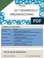 CAPITULO 14 Cambio y Desarrollo Organizacional