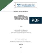 Proyecto de Cam Colombia Multiservicos