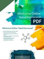 Minicurso Salud Hormonal