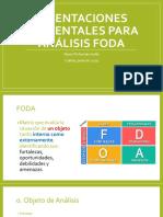 Cómo Hacer Un Análisis FODA - Publico