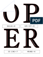 A Detailed Lesson Plan in Rules in Operation Integers Copy