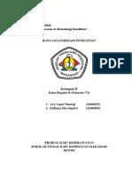 MAKALAH DESAIN PENELITIAN.docx