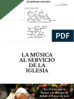 Musica al servicio de la Iglesia