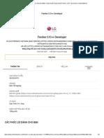LG Electronics Vietnam (R&D Center) tuyển dụng nhanh Fresher C_C++ Developer _ VietnamWorks