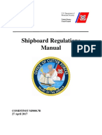 Shipboard Regulation Manual