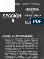Violencia y Resistencia a La Autoridad Diapositiva