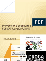 Prevención de Consumo de Sustancias Psicoactivas