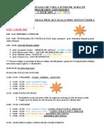 Școala de vară 2019 - săptămâna 1