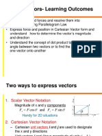 Engineering Mechanics Vectors and Scalars