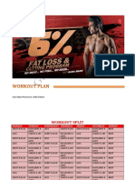 6 Vegetarian Fat Loss Workout Plan by Guru Mann