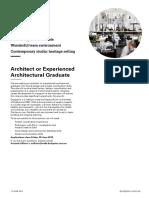 20190626-Job Ad Architect