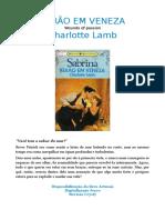 Charlote Lamb - Verão Em Veneza (Sabrina 869)