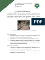 Caracteristicas de La Cadena