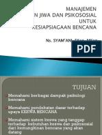 2. Gadar Keswa Bencana SYAM-1