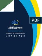 ABI Product Brochure