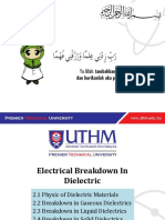 [BEF45203]Chapter 2 - Electrical Breakdown in Dielectric