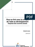 Pour en finir avec la critique de l'aide au développement