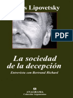 Lipovetsky, Gilles - La sociedad de la decepción.pdf