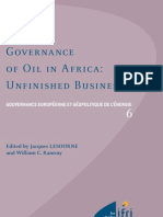 Governance of oil in Africa